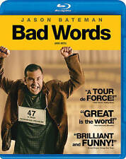 Bad Words (Blu-ray Disc, 2014, Canadian)