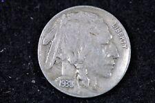 Estate Find 1938 - D Buffalo Nickel!!   #H17977