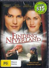 FINDING NEVERLAND - NEW & SEALED REGION 4 DVD - FREE LOCAL POST