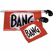 Clown Bang Gun Adult Halloween Accessory Evil Creepy Scary Circus Prank New