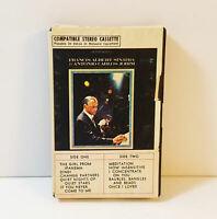 Frank Albert Sinatra & Antonio Carlos Jobim Cassette Tape Ampex Snap Case Rare