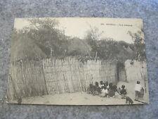 "Early postcard - Jeux d""Enfants Senegal"