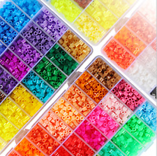 New Candy Color Plastic Hama Perler Beads Educate Kids Child Gift 1000pcs 5mm