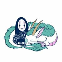Spirited Away No face Haku pin