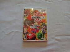 Nintendo Wii Bakugan Battle Brawlers Game CD - 2009 - Rated E DEAL!