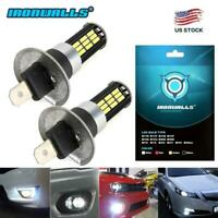 for Volvo XC90 2003-2012 H1 200W LED Fog Light Bulbs Car Driving Lamp DRL 6500K