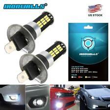 for Volvo XC90 2003-2012 H1 200W LED Fog Light Bulbs Car Driving Lamp DRL 6500K