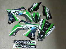 FLU DESIGNS PTS TEAM KAWASAKI GRAPHICS  KXF450 KX450F 2009 2010 2011