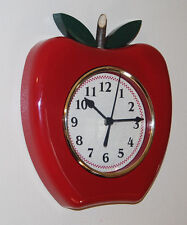 Apple Wall Clock Country Clock for Kitchen Classroom CUTE!!