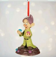 Disney Store Snow White Dopey Sketchbook Ornament Christmas Decoration New 2016