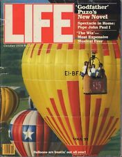 LIFE October 1978 Hot Air Balloons / Shah of Iran / How Writing Began