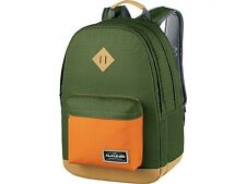 "Dakine DETAIL 27L Olive Green Orange Organizer Pocket 15"" Laptop Sleeve Backpack"