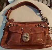 COACH LEGACY Whiskey Vachetta Leather 65th Anniversary Shoulder Purse Bag 11127