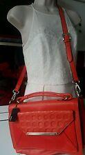 BNWT RRP $450.00 Mimco Poppy Orange clutch/Cross Body Hand evening bag 24X34 CM