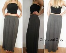 JERSEY LONG BOHO MAXI SKIRT SIZE 6 8 10 12 14 16 PETITE REGULAR TALL LENGTH