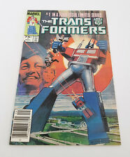 Transformers #1 1984 Key Issue 1st Appearance Autobots Decepticons Comic Book
