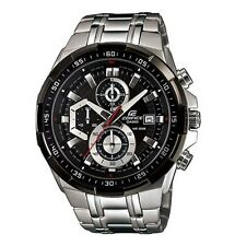 Casio Business Analog Mens Edifice Silver Watch Efr-539d-1a