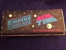 Vintage Star Wars Empire Strikes Back Micro Tins Case of 72 1980 MIB