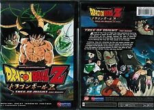Dragon Ball Z Movie Tree of mIght New Anime DVD Funimation Release