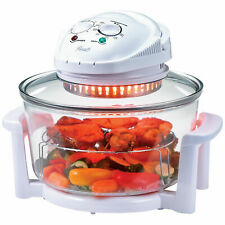Convection Infrared Halogen Oven 8 qt Glass Multifunction Energy Saving Cooking