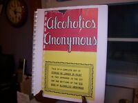 Alcoholics Anonymous 1st & 2nd Edition Stories No Longer in Print REPRODUCTION
