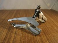1990 MTB front derailleur Shimano FD-M550 Deore LX made in Japan 30 mm bottom