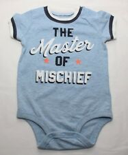 The Master of Mischief Baby Romper shirt 9M size