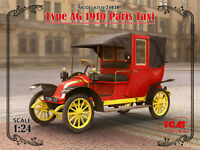 1/24 Assembly kit model Type AG 1910 Paris Taxi (ICM)