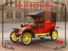 1/24 Assembly kit model Type AG 1910 Paris Taxi (ICM)