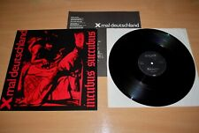 "X MAL DEUTSCHLAND Incubus Succubus RARE 1ST PRESS GERMANY 12"" LOVELY 1982 Insert"