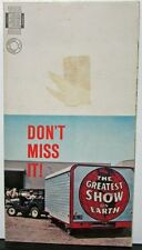 1963 Jeep Sales Mailer Ringling Bros Barnum Bailey Circus Desilu Production