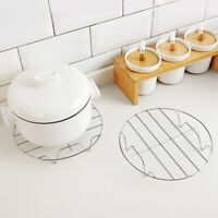 Steam Rack Stand Steamer Basket For Dish Stainless Steel Multi wcx bara