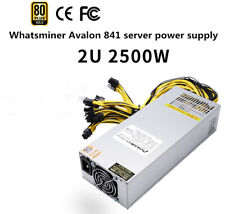 2500W regulated 12V efficiency Avalon 841 server chassis power supply