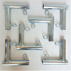 """6pc 2 Way L Shaped Slider Canopy Fitting Patio Carport Garden (FVOL) 1 3/8"""" Pipe"""