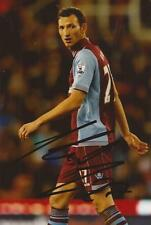 ASTON VILLA: LIBOR KOZAK SIGNED 6x4 ACTION PHOTO+COA