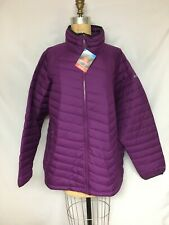 Columbia Plus Size Powder Lite Quilted Puffer Jacket 1699062 Purple 3X NWT $160