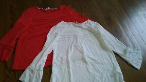 NWOT Women's Boden Cotton Tee Shirt Lot Size 8