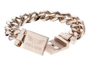 Police Barrier Men's Bracelet PJ23011BSRG-02-19 Stainless Steel