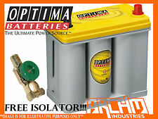 OPTIMA D51R YELLOW TOP HIGH PERFORMANCE DRYCELL AGM DEEP CYCLE & START BATTERY