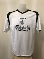"FC Liverpool 2001/2002/2003 away Size 42/44"" Reebok football shirt jersey soccer"