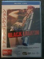 Black Lagoon : Season 1 (Blu-ray + Dvd) 2014, 4-Disc Set) Brand New Sealed