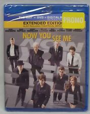 Now You See Me: Blu-ray + DVD + Digital [Extended Edition] 2-Disc Set NEW