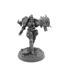 28mm-scale CHAOS RENEGADE SISTER WITH DAEMON GUN