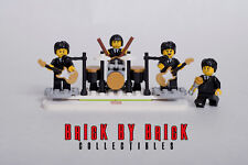 NEW Lego Custom MOC 60s Rock n Roll Stage Display - Black and Gold - NEW Other