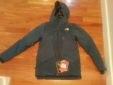 The North Face Diameter Goose Down Jacket - Men's M Blue Wing Teal Gore-Tex