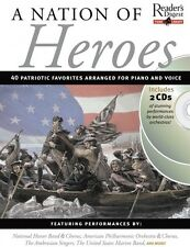 A Nation of Heroes Sheet Music Reader's Digest Piano Library Book 2-CD 014026961