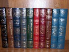 Easton Press WILLIAM FAULKNER CLASSICS in 10 volumes -RARE