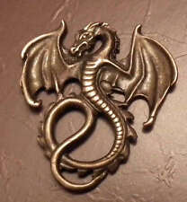 1/12 dolls house miniature Dragon Wall Shield Plaque Ornament fireplace Picture