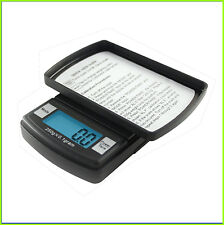 Digital Pocket Scale 600g x 0.1g Gram Grain Gn Ounce Dwt Fast Weigh Penny Weight