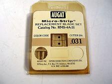 AUGAT MICRO-STRIP RMS-4A-31 Micro-Strip Blade Set, .031   NEW